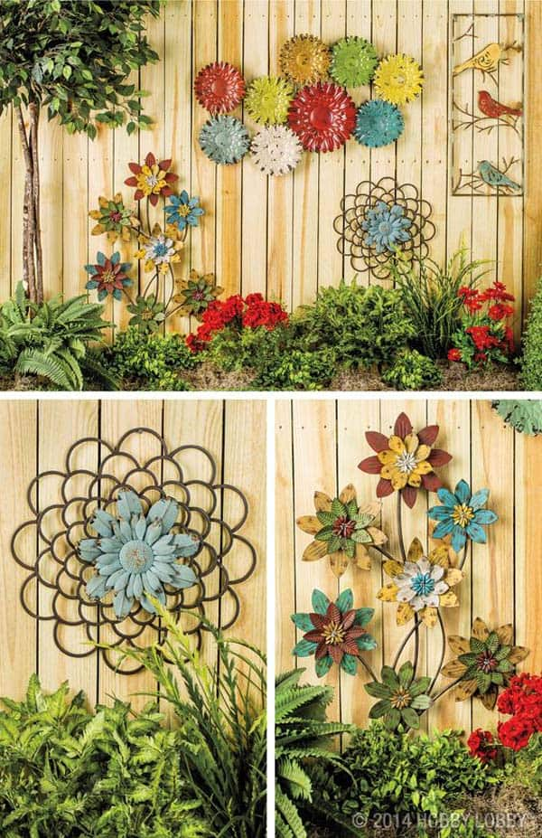 Simple Low Budget DIY Garden Art Flower Yard Projects To Do homesthetics (14)