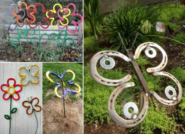 Simple Low Budget DIY Garden Art Flower Yard Projects To Do homesthetics (17)