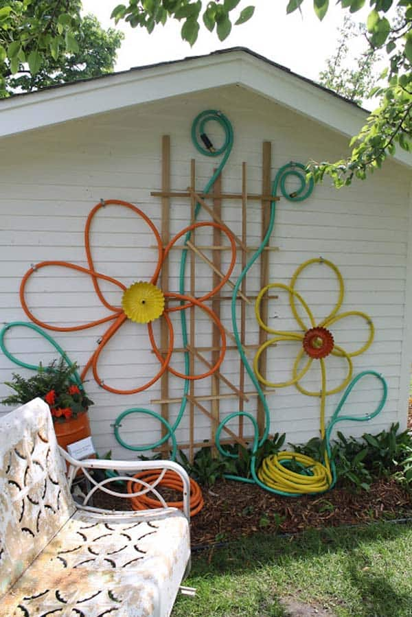 Simple Low Budget DIY Garden Art Flower Yard Projects To Do homesthetics (4)
