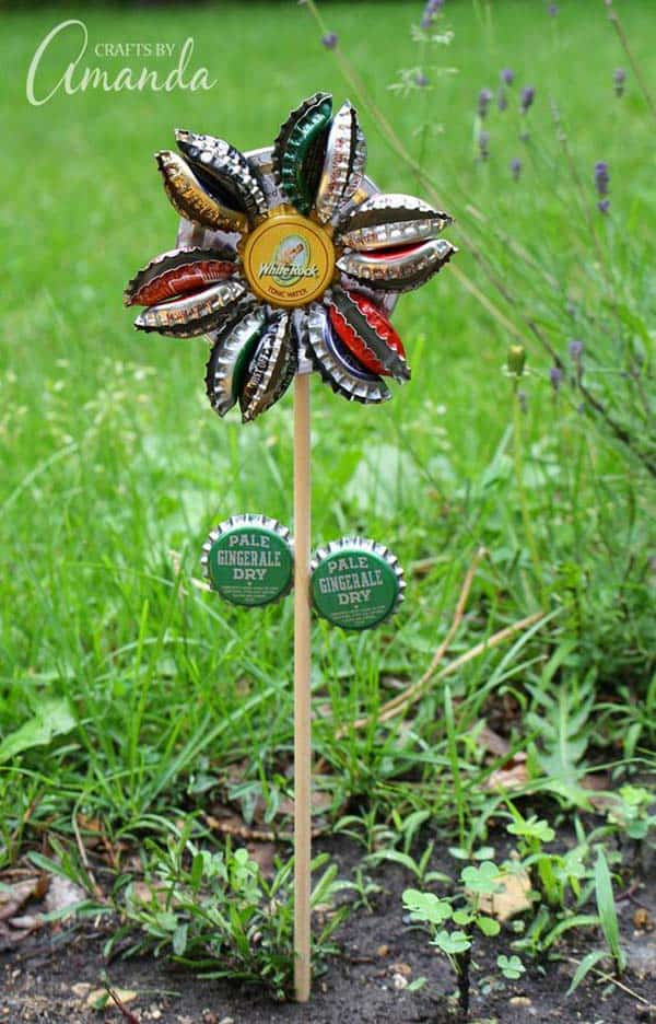 Simple Low Budget DIY Garden Art Flower Yard Projects To Do homesthetics (6)