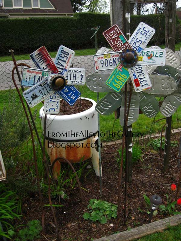 Simple Low Budget DIY Garden Art Flower Yard Projects To Do homesthetics (8)