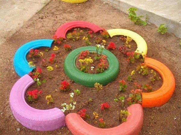 Simple Low Budget DIY Garden Art Flower Yard Projects To Do homesthetics (9)