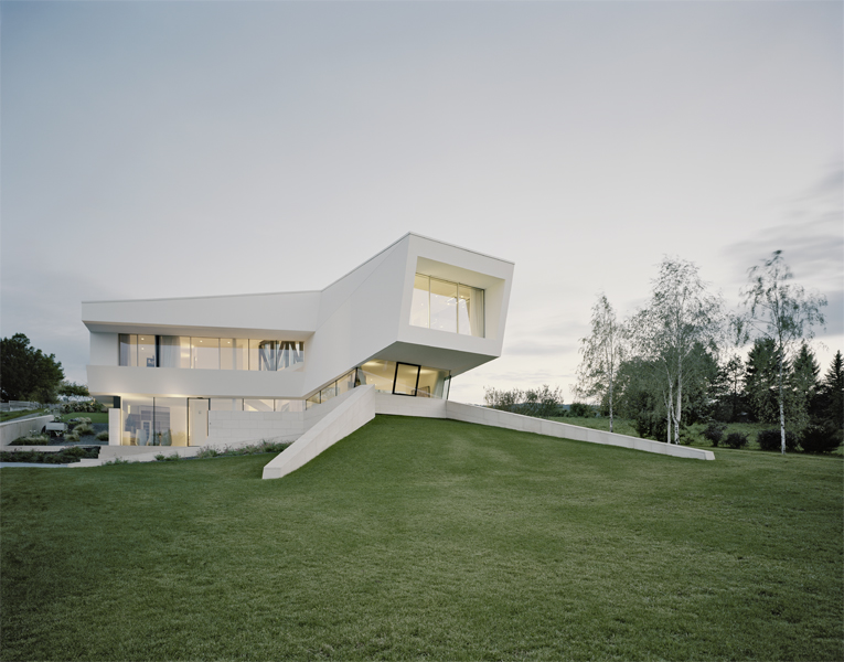 Simplicity Exposed In Residence Klosterneuburg by Project A01 homesthetics (10)
