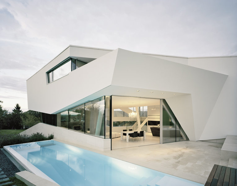 Simplicity Exposed In Residence Klosterneuburg by Project A01 homesthetics (4)