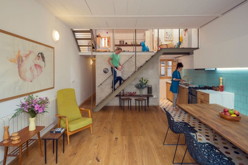 Small Home Renovation In Barcelona By Nook Architects