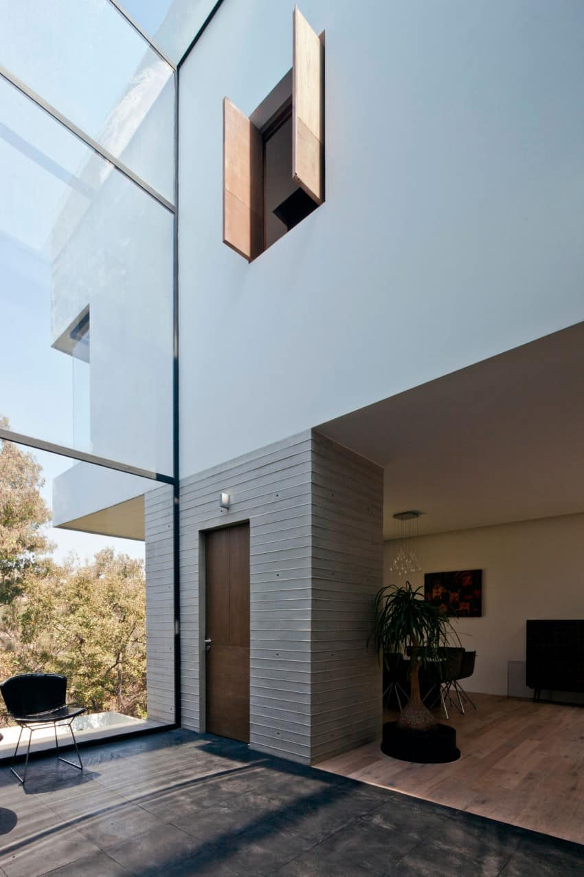 Splendid Contemporary Residence in Mexico by Materia Arquitectonica homesthetics (13)