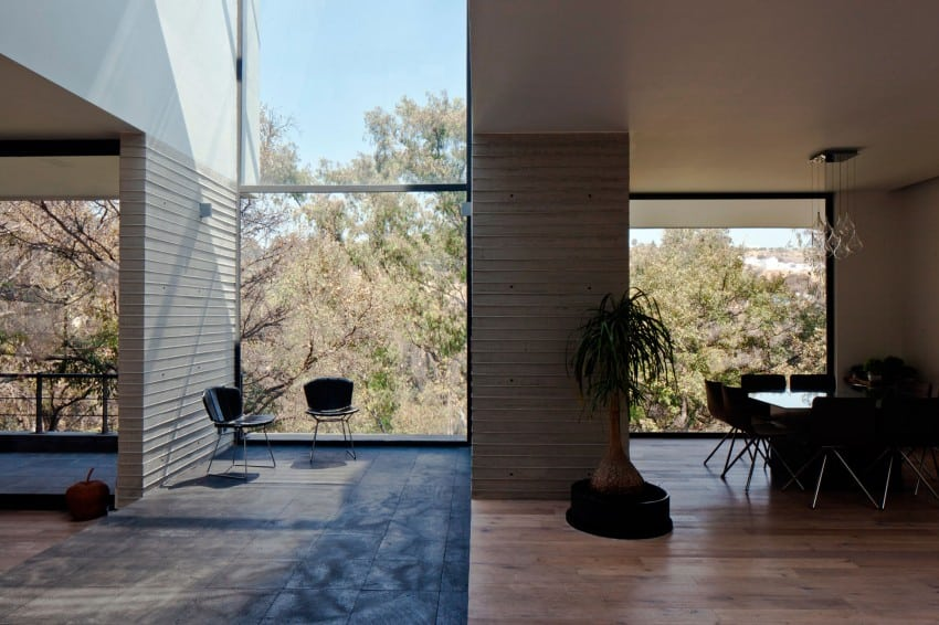 Splendid Contemporary Residence in Mexico by Materia Arquitectonica homesthetics (14)