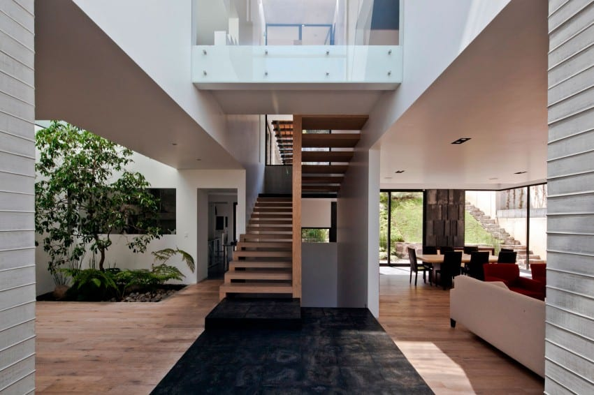 Splendid Contemporary Residence in Mexico by Materia Arquitectonica homesthetics (15)