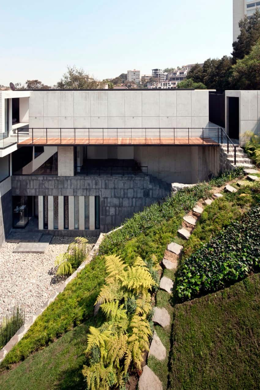 Splendid Contemporary Residence in Mexico by Materia Arquitectonica homesthetics (3)