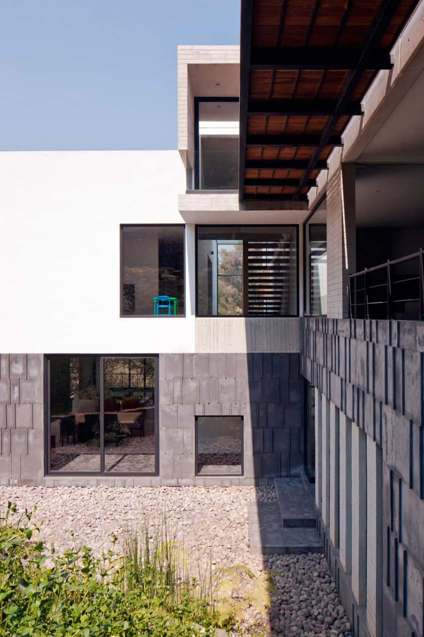 Splendid Contemporary Residence in Mexico by Materia Arquitectonica homesthetics (6)