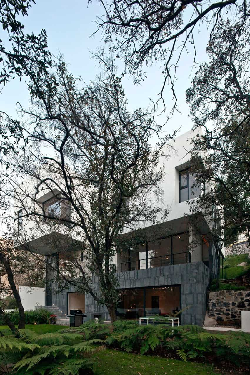 Splendid Contemporary Residence in Mexico by Materia Arquitectonica homesthetics 8