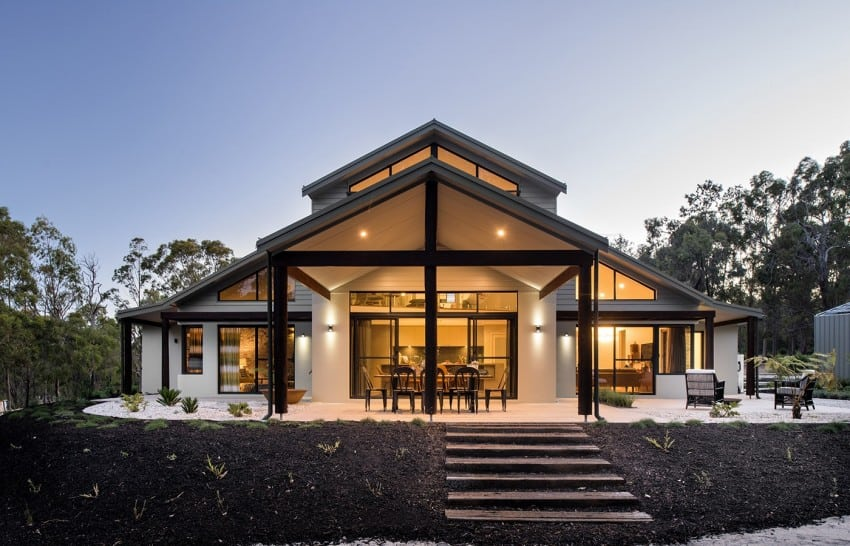a classical modern home in australia