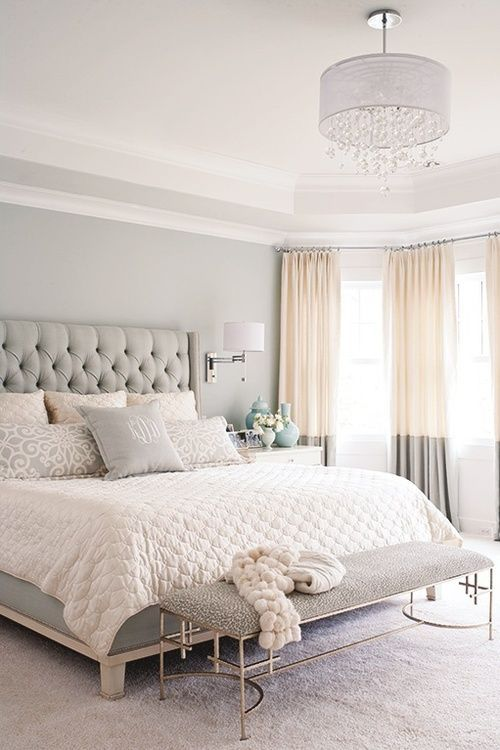 elegant pastel small bedroom decor