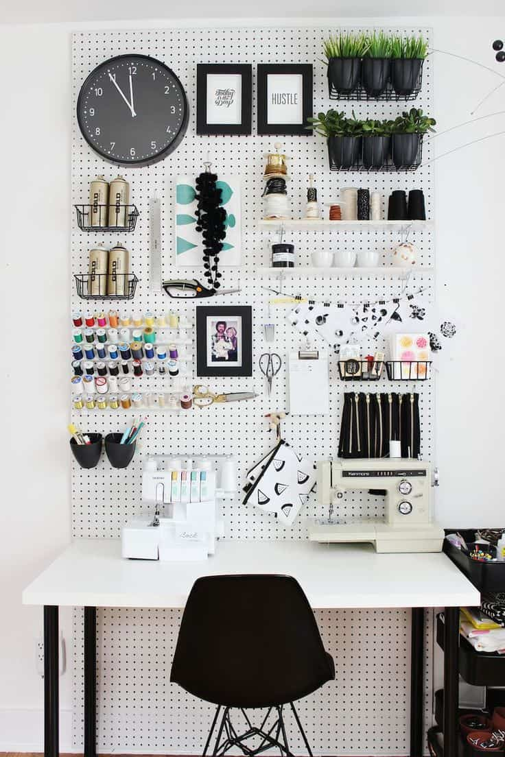 organized working space