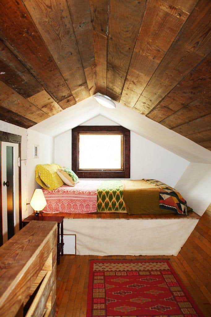 attic space bedroom