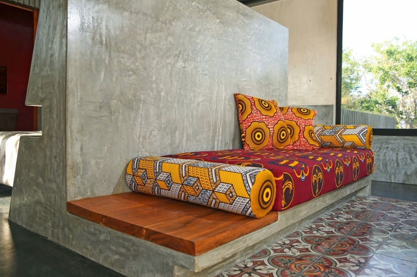 Vibrant Home in Tulum Mexico Entitled T-House homesthetics architecture (11)
