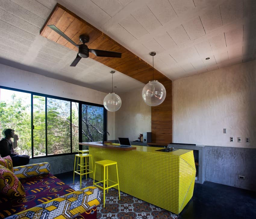 Vibrant Home in Tulum Mexico Entitled T-House homesthetics architecture (12)
