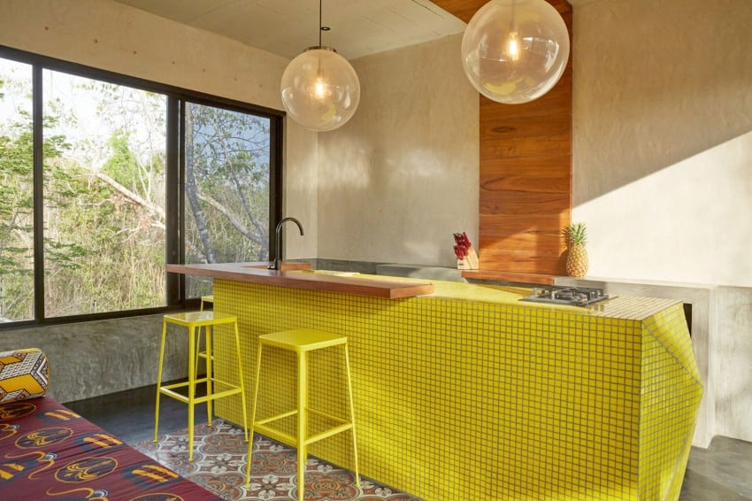 Vibrant Home in Tulum Mexico Entitled T-House homesthetics architecture (13)