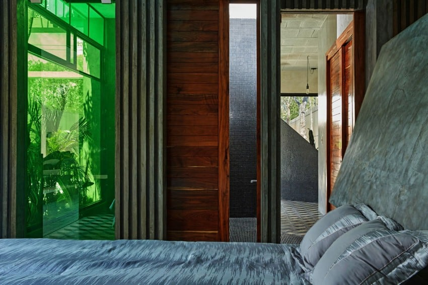 Vibrant Home in Tulum Mexico Entitled T-House homesthetics architecture (16)