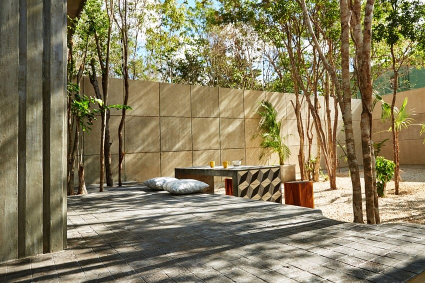 Vibrant Home in Tulum Mexico Entitled T-House homesthetics architecture (3)