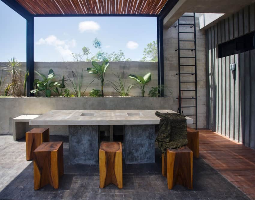 Vibrant Home in Tulum Mexico Entitled T-House homesthetics architecture (7)