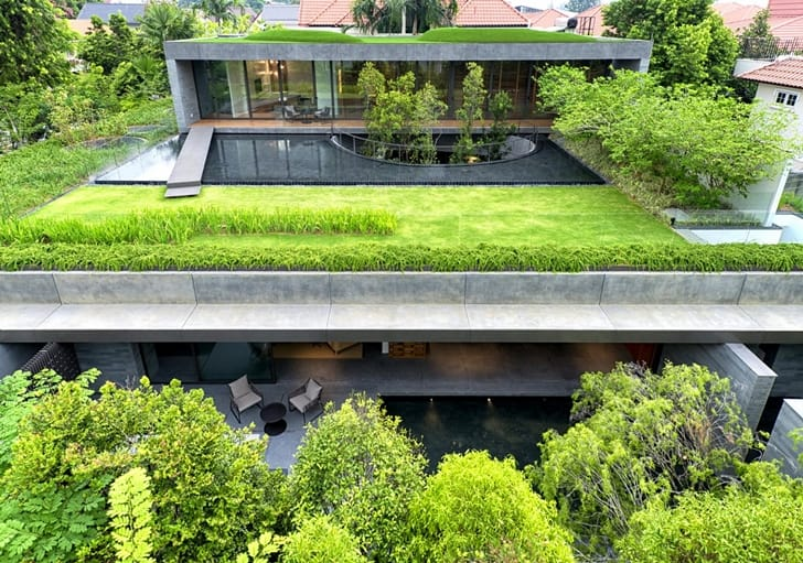 WALL-HOUSE-Live-with-Nature-Modern-Mansion-in-Singapore-Embedded-in-Vegeation-by-FARM-Architects-on-homesthetics-1