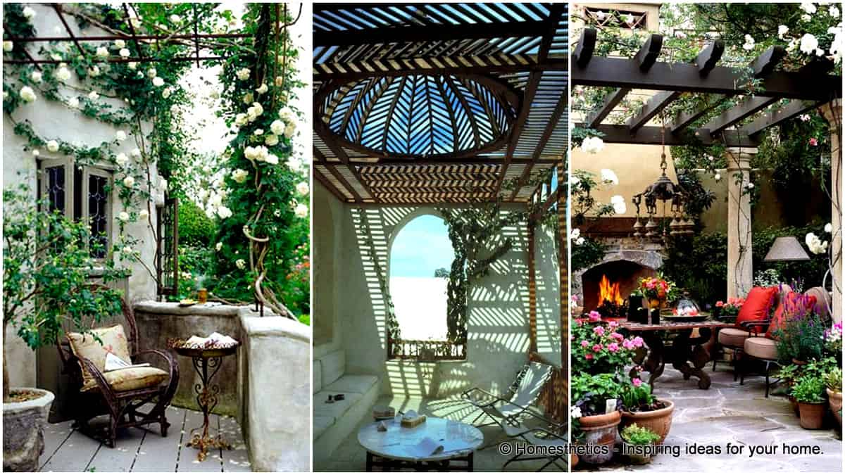 What is a Pergola? 44 Inspiring Pergola Design Ideas & Pergola Types  Explained - What Is A Pergola? Pergola Design Ideas & Pergola Types