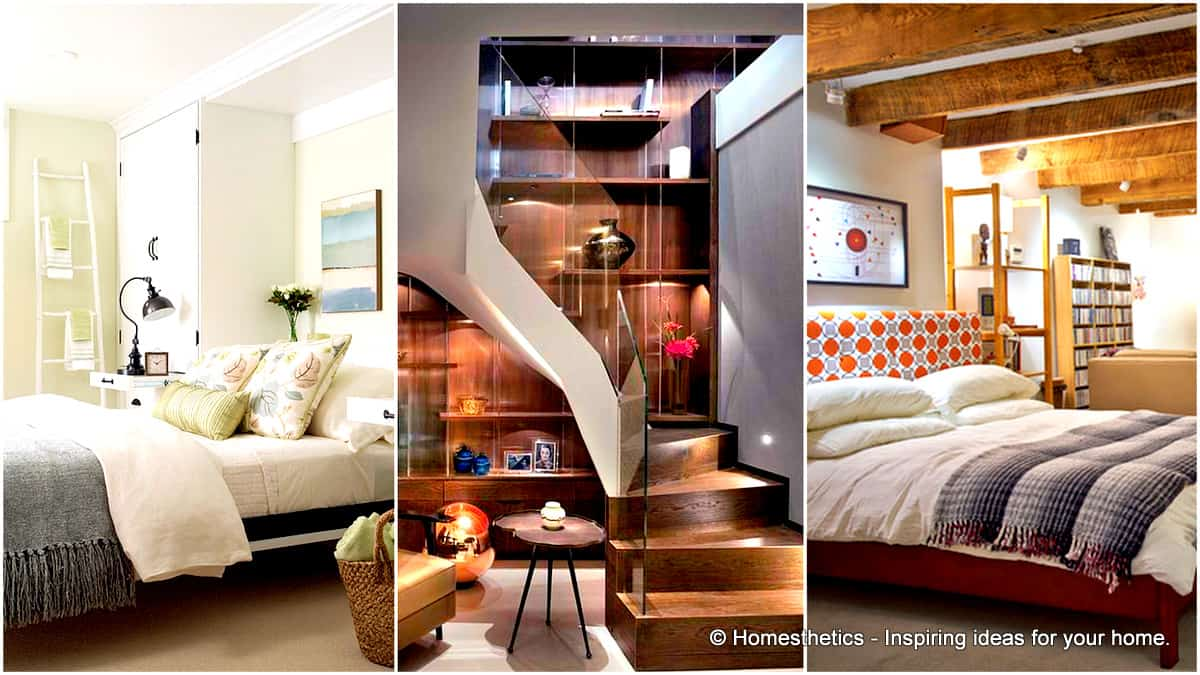 Easy creative bedroom basement ideas tips and tricks for Awesome bedroom ideas for small rooms