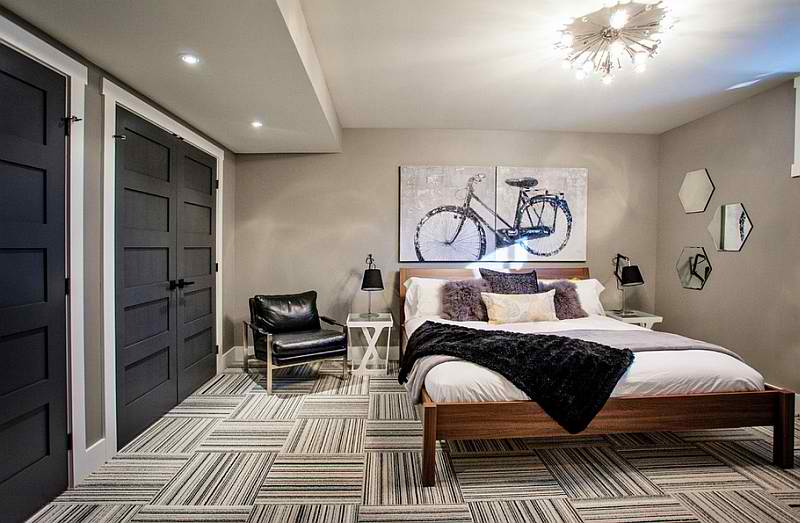 bedroom basement with large bedroom. Easy Creative Bedroom Basement Ideas   Tips and Tricks