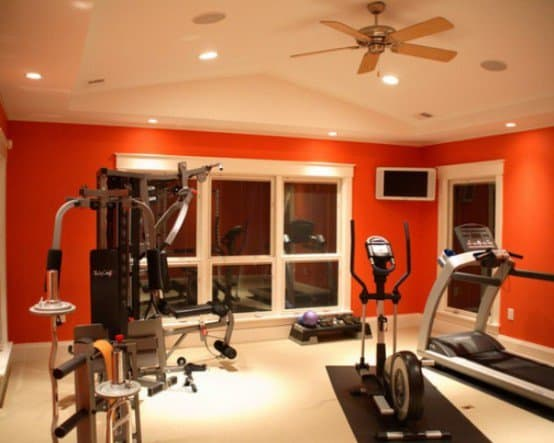 decor homesthetics get your home fit with these 92 home gym design ideas 1 - Home Gym Design Ideas
