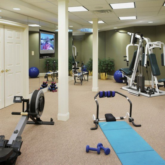 decor homesthetics Get Your Home Fit With These 92 Home Gym Design Ideas (14)