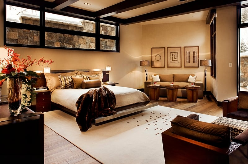 Easy creative bedroom basement ideas tips and tricks for How to decorate a big bedroom