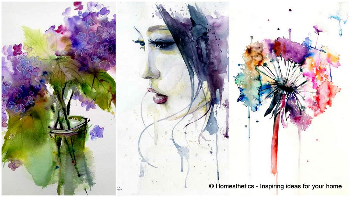 Expand Your Knowledge With Watercolor Painting Ideas - Homesthetics ...