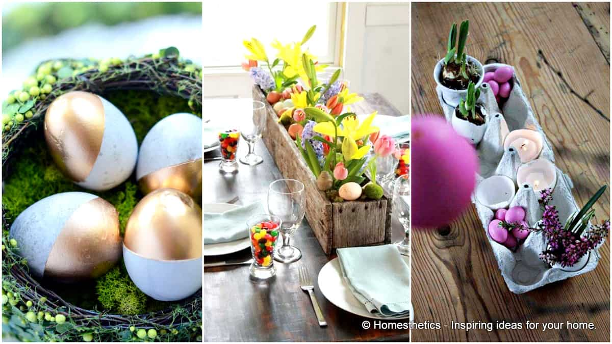 1 30 Superb Last Minute Easy Easter Crafts For Your Decor