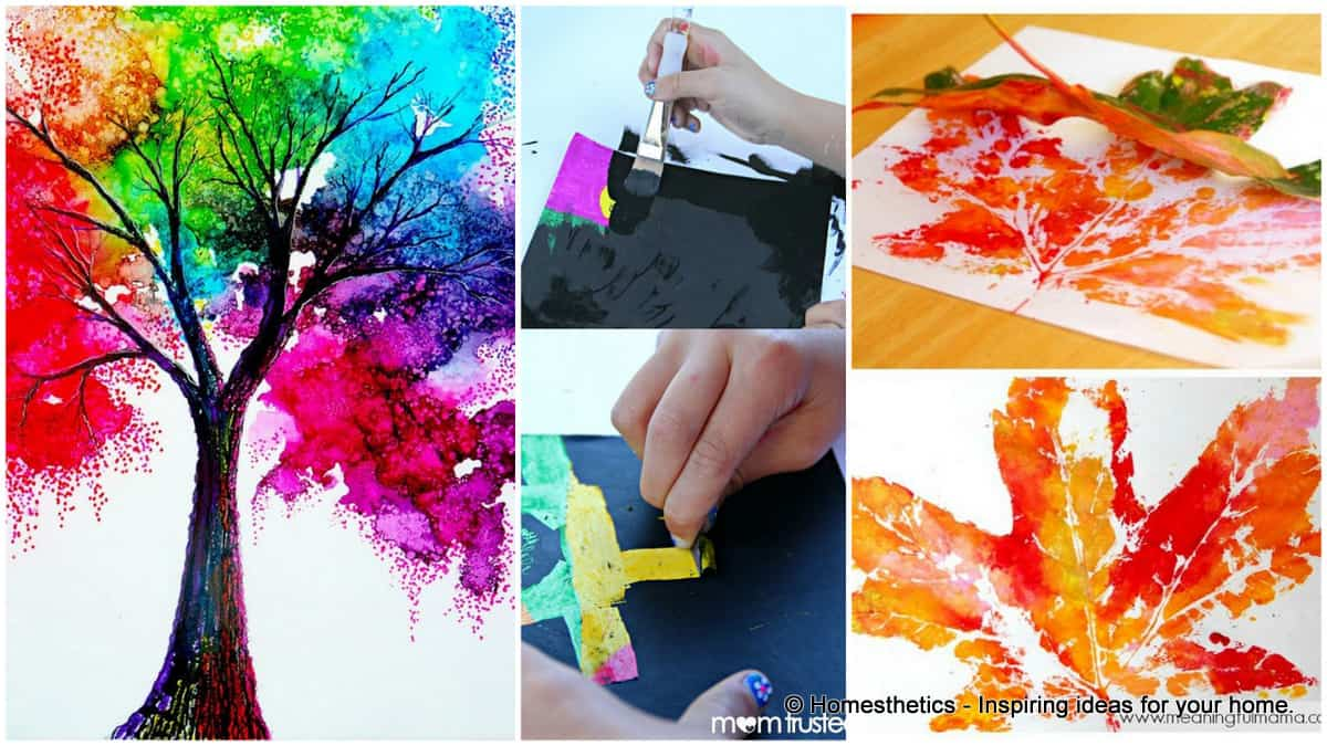19 Fun And Easy Painting Ideas For Kids - Homesthetics - Inspiring ...