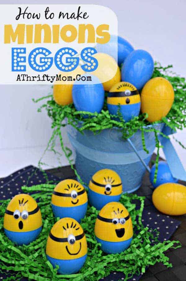 Learn how to make minion eggs