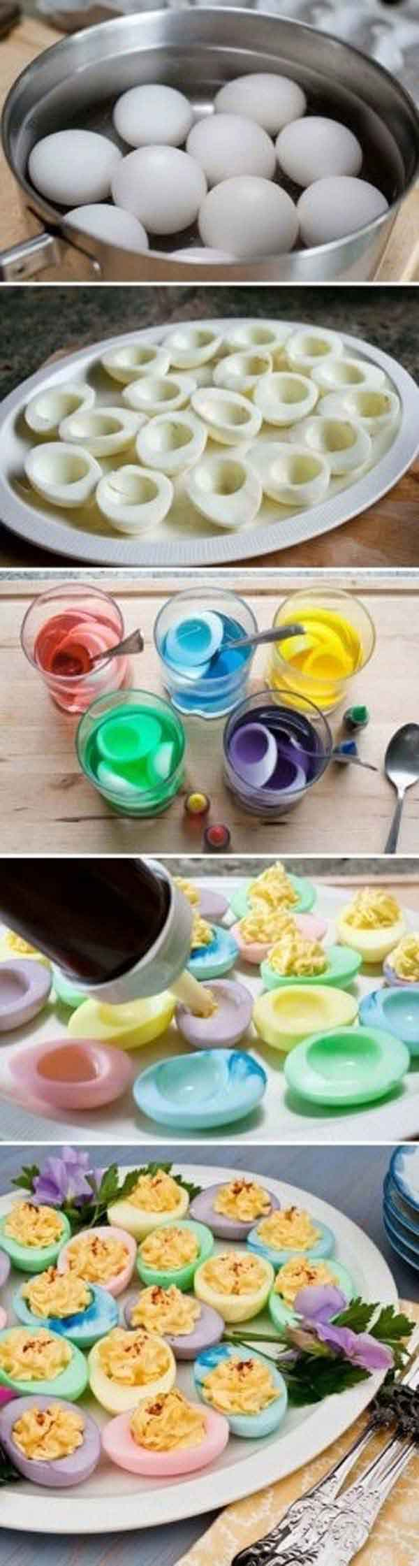 use natural food coloring methods to color up your dishes