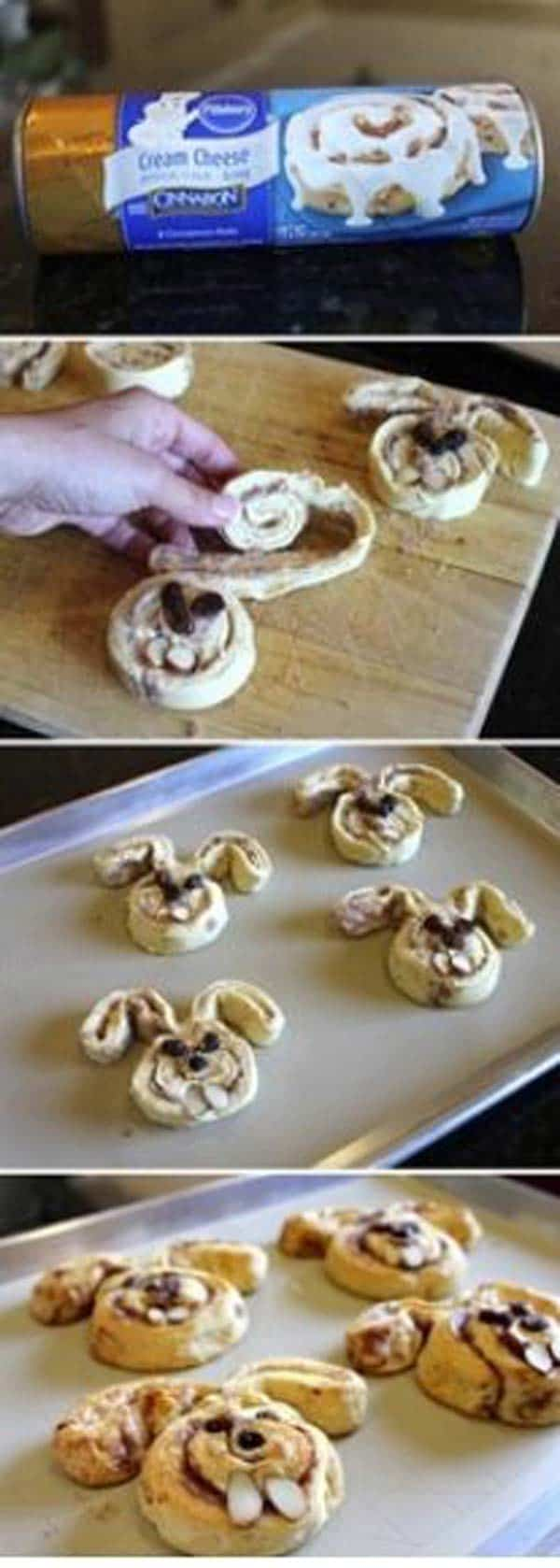 realize bunny shaped cookies