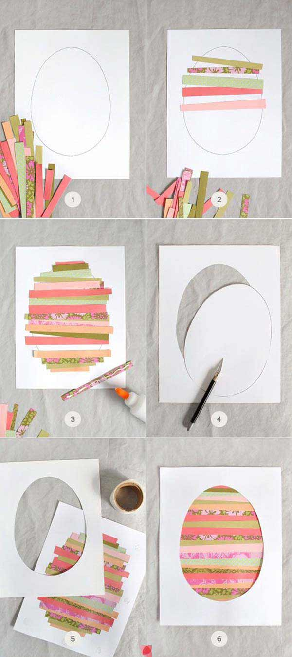 realize beautiful easter cards with your little ones