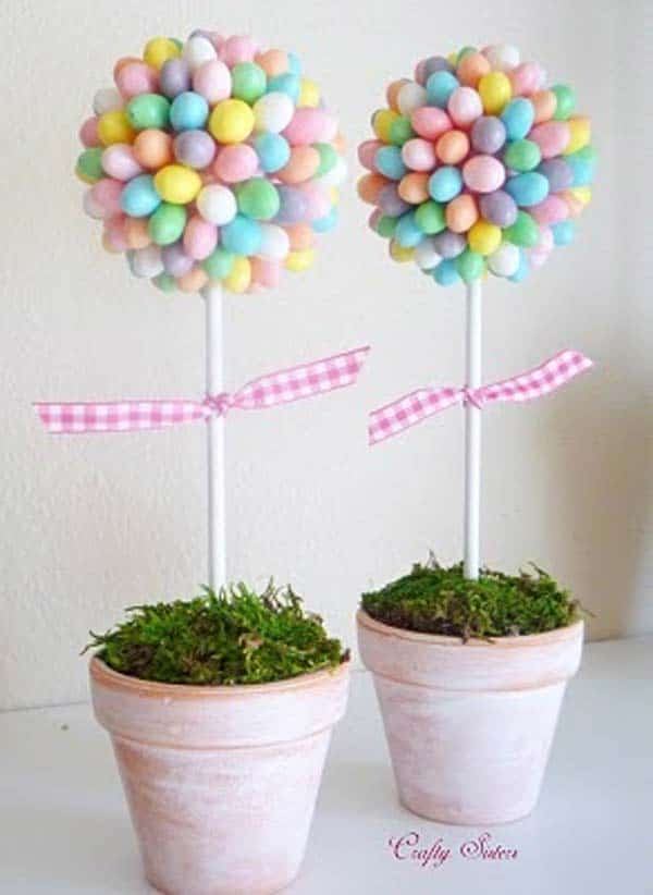 38 easy diy easter crafts to brighten your home homesthetics 38 easy diy easter crafts to brighten your negle Images