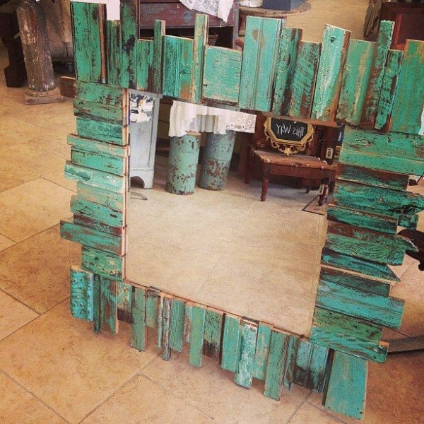 #41. RE-PURPOSED PALLET WOOD