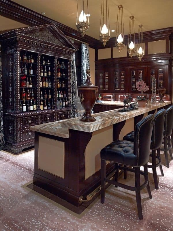 Superior Luxury Lower Level Wet Bar