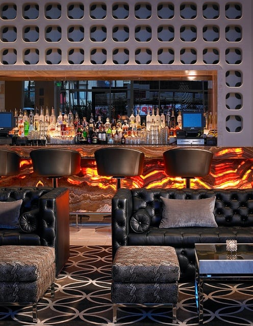 West Hollywood Living Room Bar