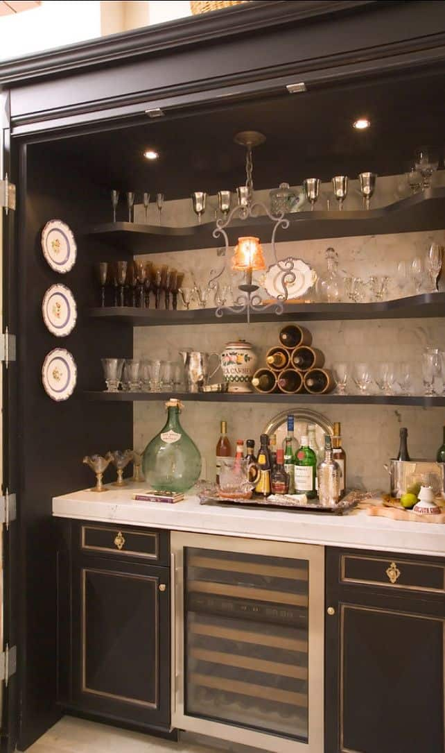 Perfect 50 Stunning Home Bar Designs   Style Estate