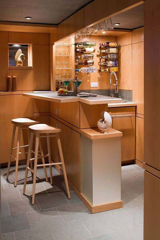 52 splendid home bar ideas to match your entertaining style homesthetics inspiring ideas for - House bar design ...