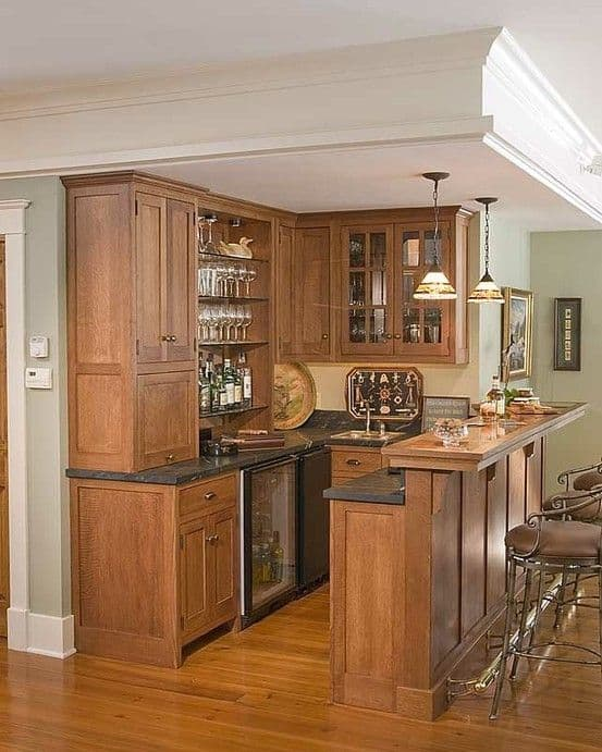 52 splendid home bar ideas to match your style