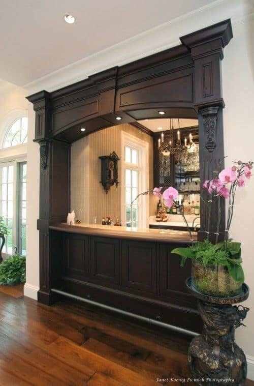 52 Splendid Home Bar Ideas To Match Your Entertaining Style - Living Room And Bar Design