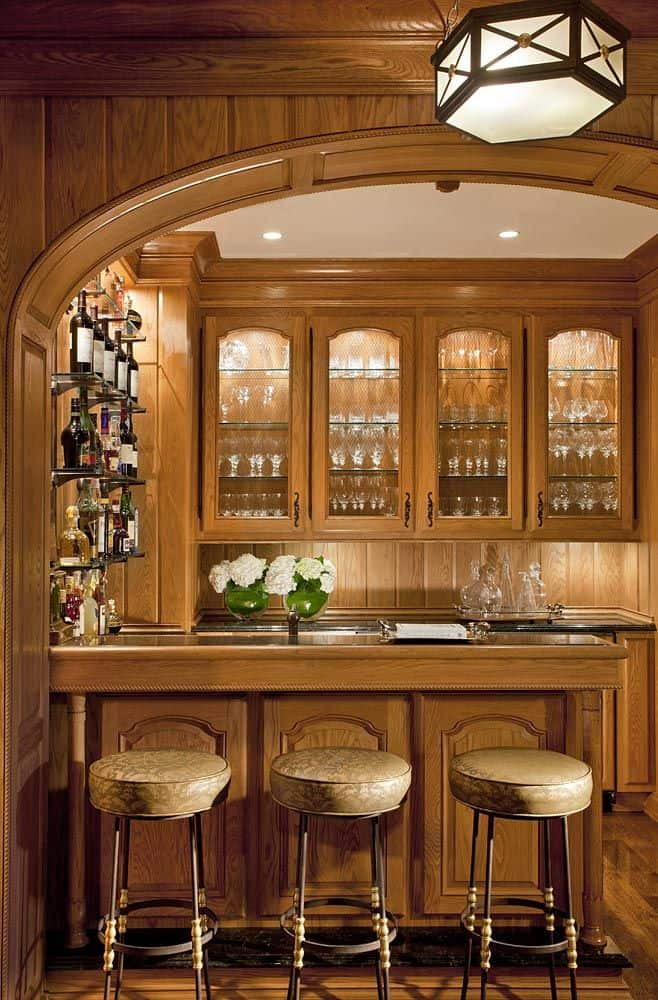 Beautiful Paneled Bar