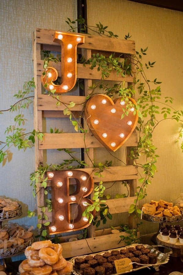 SPECIAL WEDDING Wooden Pallet DECOR