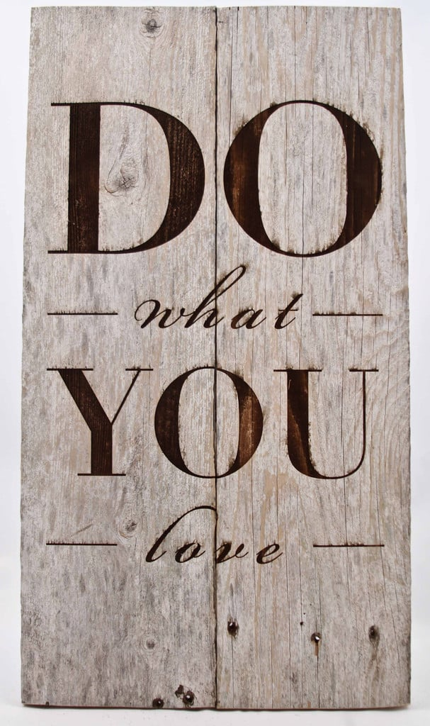 #81. STENCILED WOODEN PALLET WALL ART